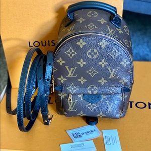 Louis Vuitton Mini Palm Springs Monogram backpack